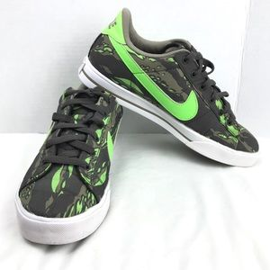 Nike Green Camouflage Fashion Sneakers Shoes 8.5